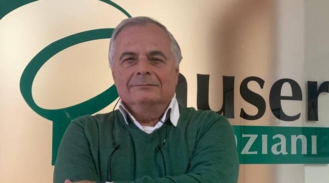 Luciano Guarinoni, presidente Auser Piacenza