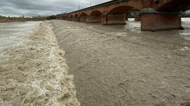 Maltempo fiumi Piacenza