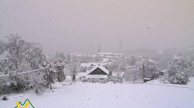 Mareto neve novembre 2019