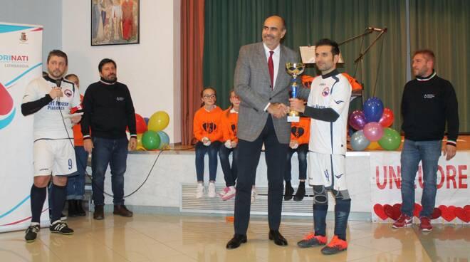 Premiazioni torneo di calcio in memoria degli agenti uccisi a Trieste