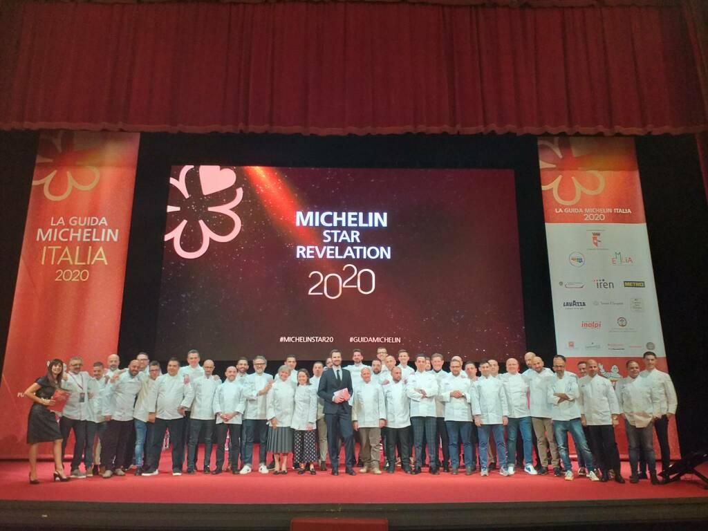 Presentazione della Guida Michelin al Teatro Municipale di Piacenza
