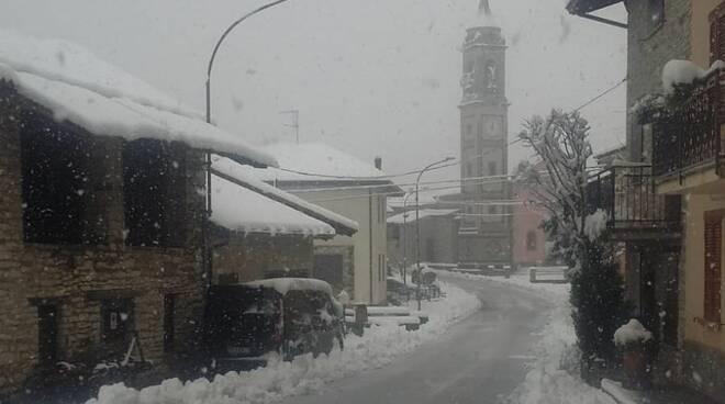 Prima nevicata novembre 2019