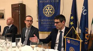 Rotary Cortemaggiore, incontro con l'arch. Perazzoli