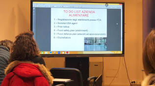 "Seminario ""Come esportare e importare food in Usa"""
