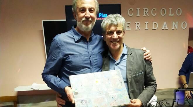 Ziliani (a sinistra) con Sandro Chiaravalloti