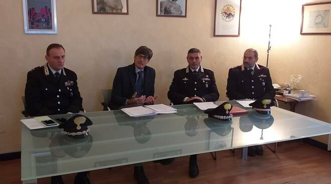 carabinieri in Procura