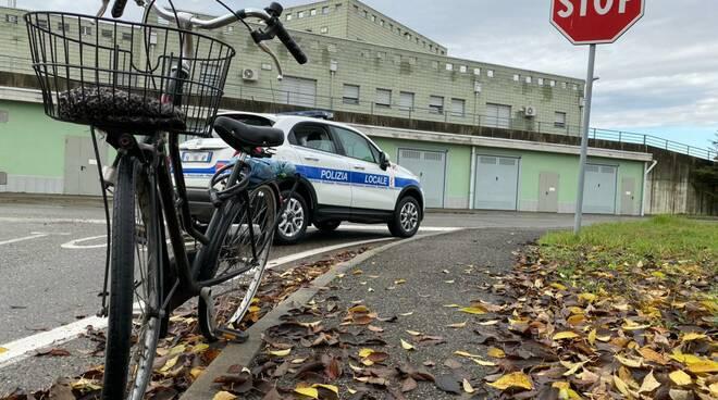 ciclista investito a Borgotrebbia