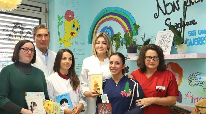 donazione mamme del riuso in pediatria