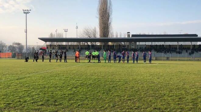 Fiorenzuola calcio a Castel Maggiore