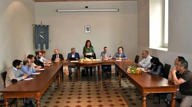 Foto del consiglio comunale di Gragnano
