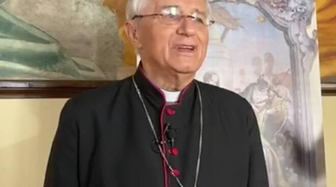 Il vescovo Gianni Ambrosio