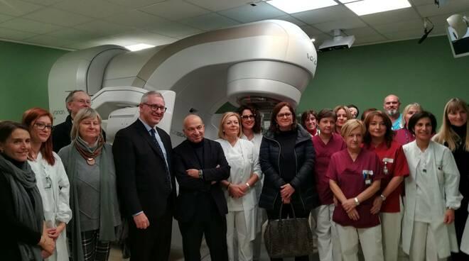 Inaugurazione del nuovo acceleratore lineare True Beam di Radiologia