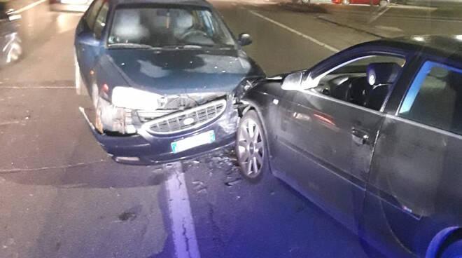 L'incidente alla Cattagnina sulla via Emilia
