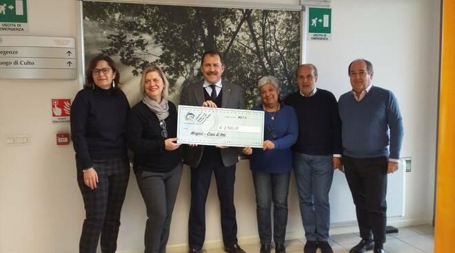 La donazione Rotary