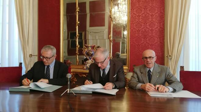 La firma del protocollo