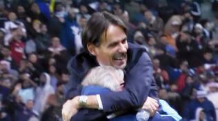 La gioia di Simone Inzaghi