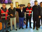 La visita dei carabinieri in congedo nelle strutture di Fiorenzuola