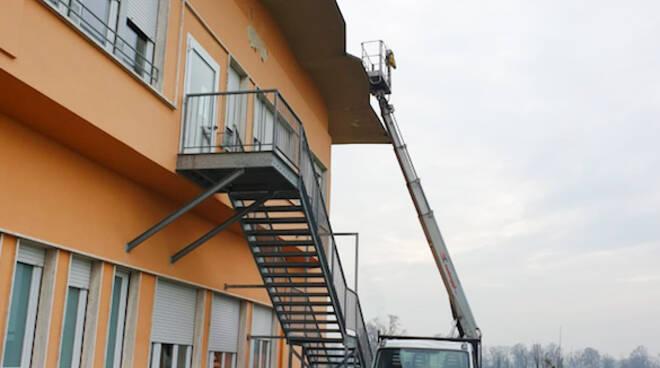 Lavori manutenzione scuola Gragnano