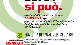 "locandina evento ""rifiuti zero' Si può"""