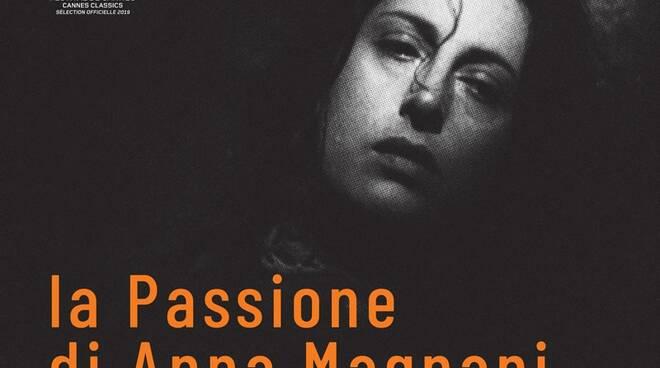 """locandina film """"La passione di Anna Magnani"""""""