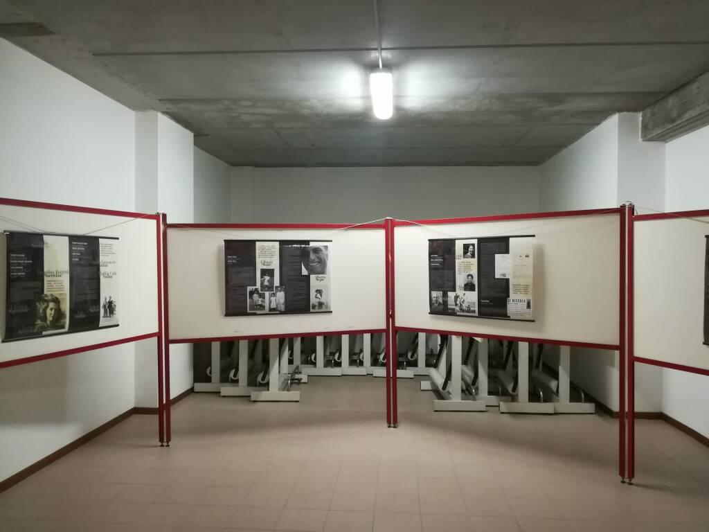 Mostra binario 21 all'Istituto Tramello