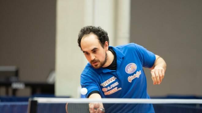Paolo Giorgio Tennistavolo Reggio Emilia Ferval (foto Stefano Ferrini)