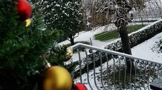 Prima nevicata in pianura dicembre 2019