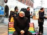 Tommaso Foti sulla panchina arcobaleno
