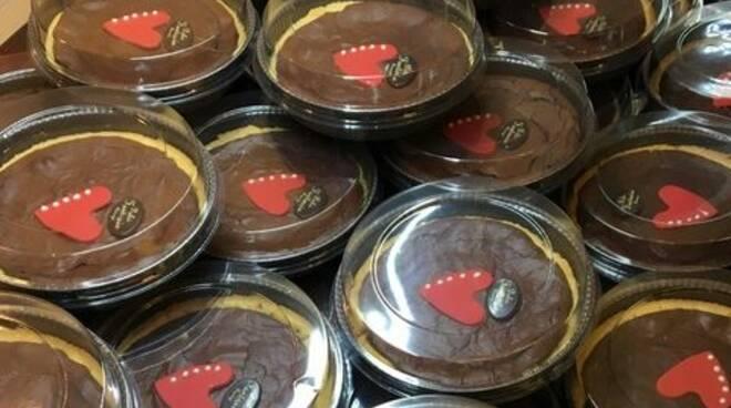 Torta di cioccolato per Progetto Vita
