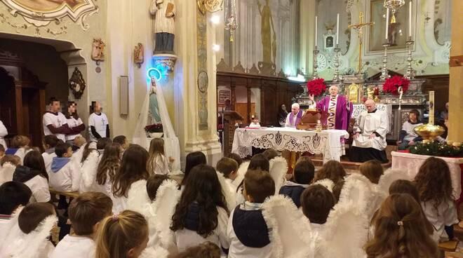 Vescovo Gianni Ambrosio a Casaliggio