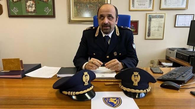 Angelo Di Legge, comandante Polstrada