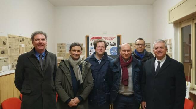 Associazione pendolari incontra Tagliaferri e Calloria