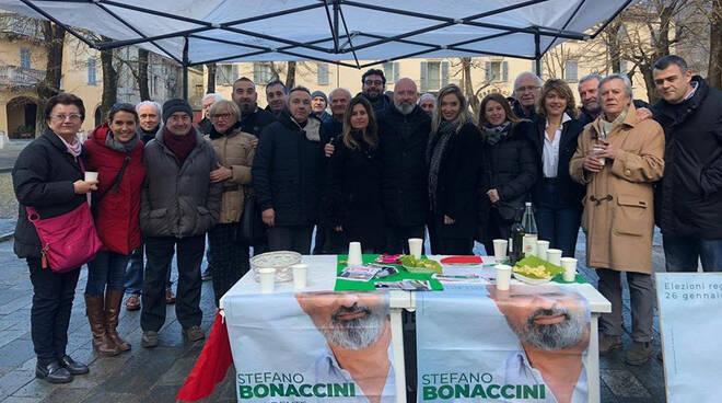 Bonaccini a Piacenza 10 gennaio