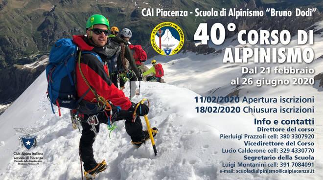 40° Corso di Alpinismo - Apertura Iscrizioni