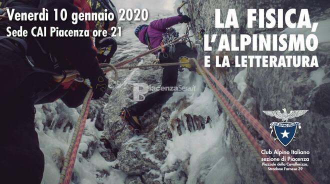 La fisica, l\'alpinismo e la letteratura