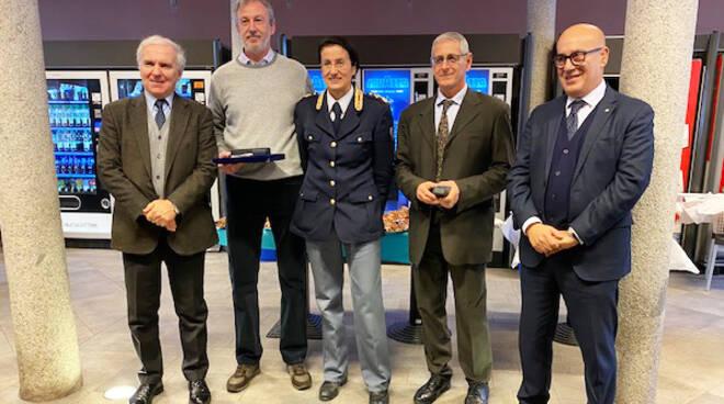 Cerimonia pensionamento Vernelli - Ziliani