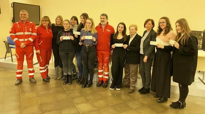 Consegna borse di studio Croce Rossa