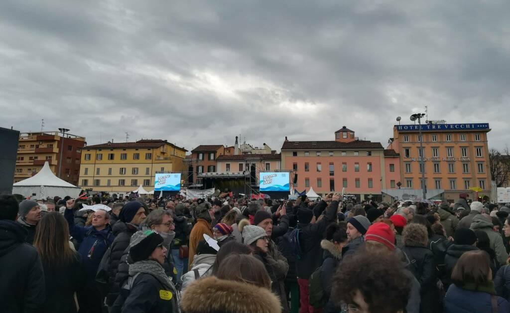 Evento Sardine a Bologna