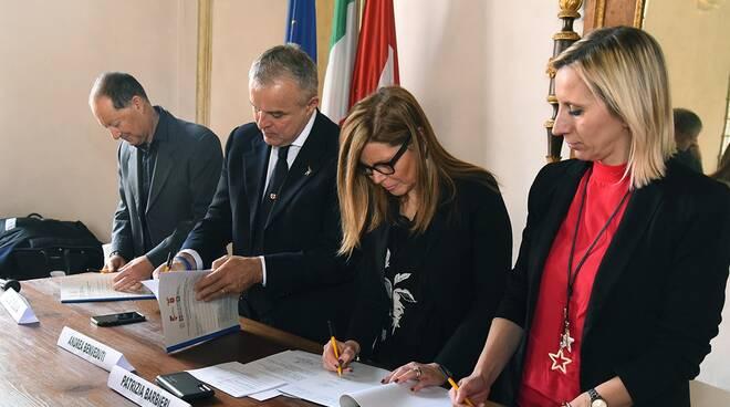 Firma Protocollo Logistica Palazzo Farnese (Del Papa)