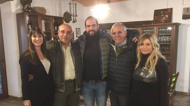 Francesco Bruzzone con Stragliati, Rancan, Pisani, Cappucciati