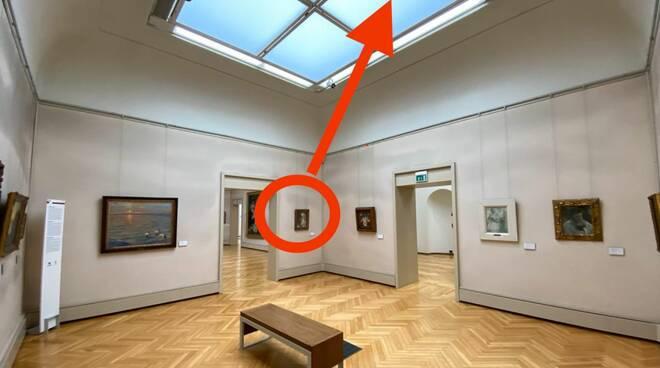 Futo Klimt, Nuovo sopralluogo alla Ricci Oddi