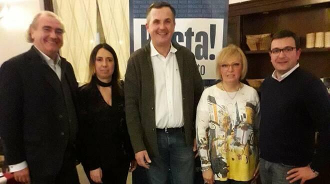 I candidati di Forza Italia e il commissario Girometta