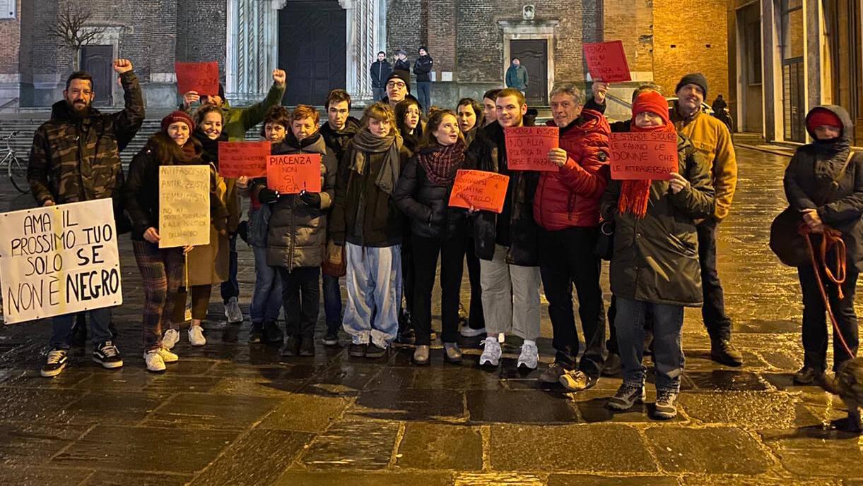 Il comizio di Matteo Salvini in Piazza Cavalli