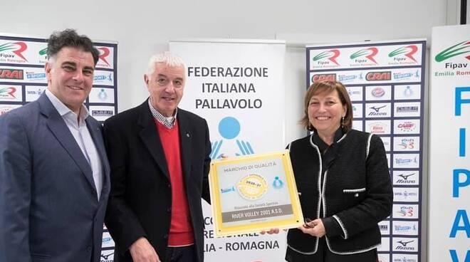 il responsabile del progetto VAP Corrado Marchetti insieme al direttore generale della VAP Silvana Maserati