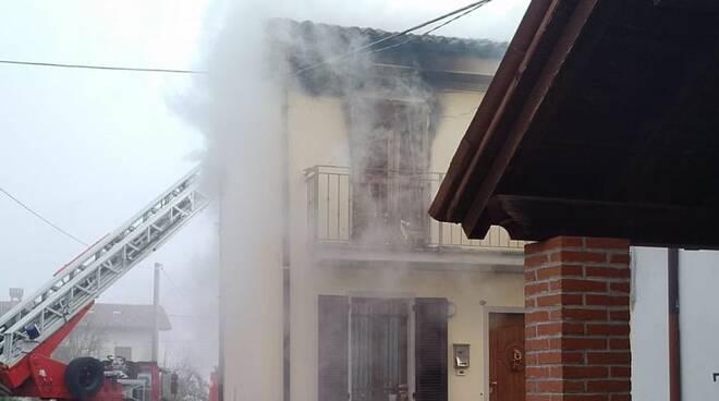 Incendio a Castelsangiovanni