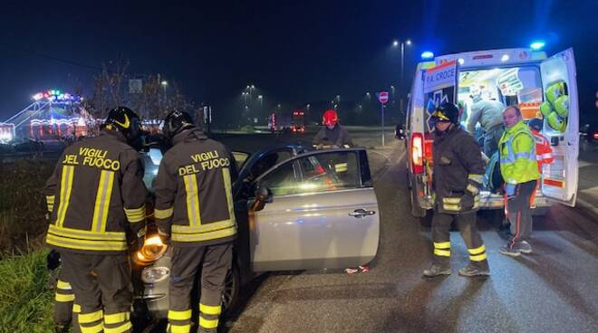 incidente Caorsana 500 contro un palo