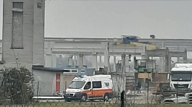 Incidente sul lavoro ad Alseno