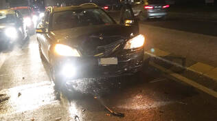 Incidente via Emilia a Sarmato