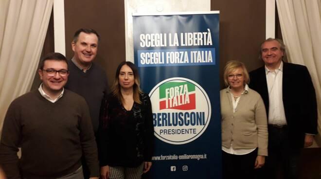 Incontro candidati di Forza Italia a Cortemaggiore