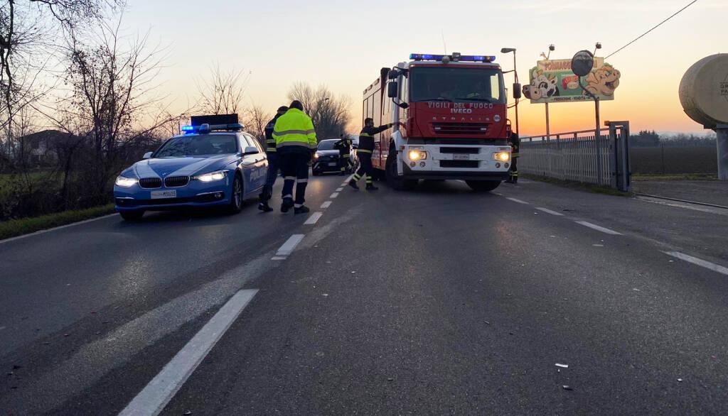 L'incidente in Strada Agazzana